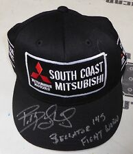 Bobby Lashley Signed Bellator MMA 145 Fight Worn Used Walkout Hat PSA/DNA COA