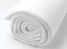 2 Pack Quality 100% Baby Cotton Cellular Blankets Cot Bed Large Size 86 x 112cm