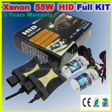 55W Xenon HID Kit Bulb Lamp Bombillas H7 H1 H3 H8 H9 H11 9006 5000K 6000K 8000K
