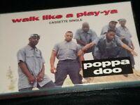Poppa Doo - Walk Like A Play-ya Playa 1994 Cassette Tape Maxi Single Hiphop rap