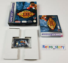Nintendo Game Boy Advance GBA Mike Tyson Boxing PAL