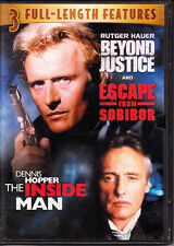 Beyond Justice - Escape from Sobibor - The Inside Man (DVD) Triple Feature
