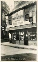 Old Curiosity Shop Charles Dickens London England RPPC Postcard