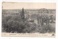 angouleme , vue générale de la vallée de la charente vers saint-cybard