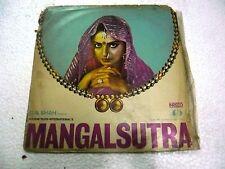 MANGALSUTRA RD R.D.BURMAN 1980 45RPM RARE LP RECORD OST orig BOLLYWOOD HINDI EX