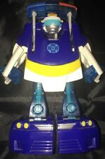 Transformers Rescue Bots CHASE Energize Playskool Police Car Bot