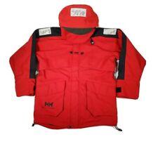 Helly Hansen HELLY TECH Red Jacket Men's Medium Reflective, Waterproof Windproof