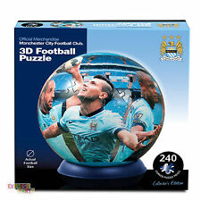 3D PUZZLE BALL MANCHESTER CITY PAUL LAMOND JIGSAW 240 PIECES
