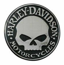 Harley Davidson Harley-Davidson Willie G Skull Chrome Auto Emblem