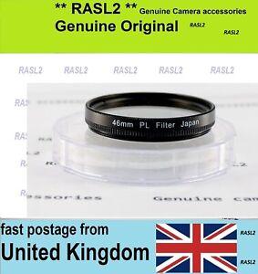 Japan 46mm PL Polarizer Filter for Olympus M-Zuiko Panasonic LUMIX G Lens