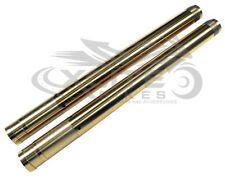 Gold fork tubes stanchion CBR1000RR 2004 2005 2006 2007 #FT123GD#