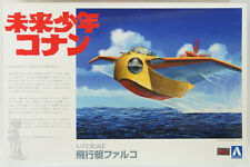 Aoshima 09451 Future Boy Conan the Flying Boat Falco 1/72 scale kit