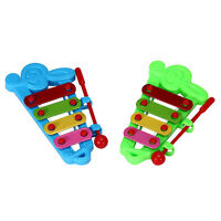 4-Note Xylophone Wisdom Developments-Instruments  Musicals Toy Gift For Child LJ