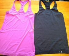 *Lot of 2*Women's Racerback Sports Tank Tops~Under Armour & Other~