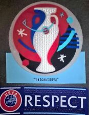 Euro 2016 + Respect Patch Badge  maillot Jersey foot France Allemagme, Portugal