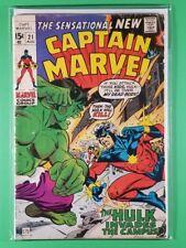 Captain Marvel (1st Series) #21 (Marvel, August 1970)