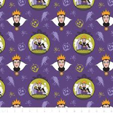 Camelot Stoffa Cattivi Disney regina cattiva uva in per metro con licenza Pellicola TV EV