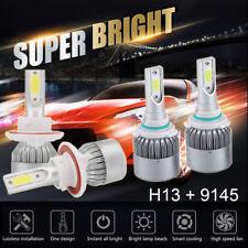 H13 9008 LED Headlight+9145 9140 Fog for 2005-2016 Ford F250 F350 2500W 375000LM