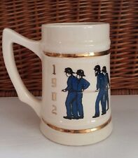 Rocky Hill NJ Fire Department Beer Stein Mug Hook and Ladder CO. 1 1902-1977