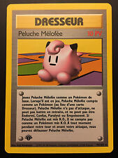 Carte Pokemon PELUCHE MELOFEE 70/102 Rare Set de Base Wizard EDITION 1 FR NEUF