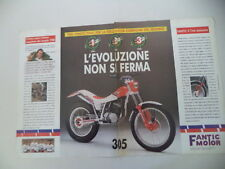 advertising Pubblicità 1989 MOTO FANTIC TRIAL 305