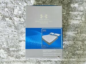 NEW Under Armour Athlete Recovery Bedding Queen Sheet Set Elemental Grey