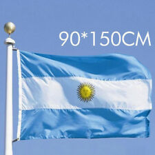3'x5' Banner Grommets Fade Resistant Quality Premium Quality Argentina Flag