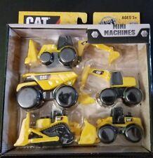 Cat Mini Machines- Caterpillar Construction Toys- 5 Piece Set- New 2016