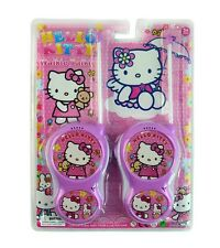 CUTE PINK KITTY CAT ELECTRONIC WALKIE TALKIE TOY PLAY SET KIDS GIRL BOY CHILDREN