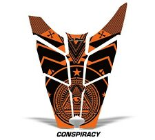 Sled Hood Graphics Kit Decal Sticker Wrap For Polaris Rush RMK 11-16 CNSPRCY ORG