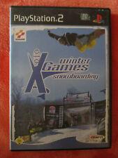 X Winter Games Snowboarding Playstation 2 PS2 mit Handbuch und OVP