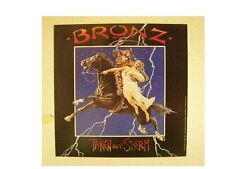Bronz Poster Taken By Storm Horse and Skeleton Flat