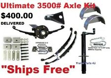 "3500 lb 89x74"" Ultimate Dexter Trailer Axle Build A Trailer Kit Replace 6150662"