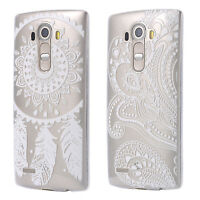 CUSTODIA SLIM CASE TPU SILICONE COVER TRASPARENTE CLEAR LG DREAMCATCHER