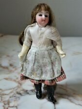 Beautiful Antique Mignonette Miniature Bisque Head Doll All Original Clothes