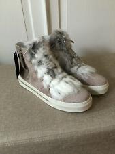 NEU ** ALPE Spain Damen Leder Stiefeletten Boots 42 Reißverschluss grau