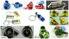 SPINNING TURBO KEY RING FOR EVO WRX GTR RX7 SILVIA S2000 MAZDA ROTARY