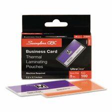 Gbc Clear Laminating Pouch 5mm 2 316 X 3 1116100 Pouches Gbc51005