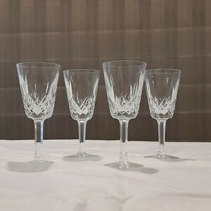 4 x Waterford Crystal Glasses
