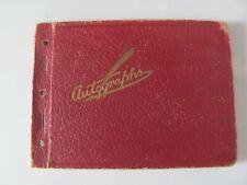 60s AUTOGRAPH BOOK  Kampus Kuties  Vintage