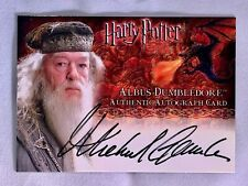 Artbox - Harry Potter And the Goblet of Fire Autograph Card.  Albus Dumbledore!!
