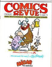 """Comics Revue Vol 1 No 18-1987-Strip Reprints- """"Hagar The Horrible Cover!  """""""