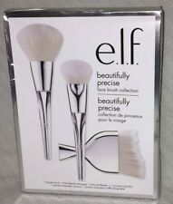e.l.f. Beautifully Precise Three Piece Face Brush Collection ~ B75154-1 ~ NEW ~