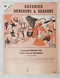 R314 Advanced Dungeons & Dragons – Module S2: White Plume Mountain
