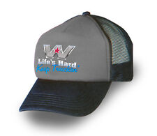 WESTERN STAR TRUCK Cap/Hat Trucker Cap 'Keep Truckin' Grey