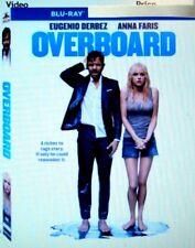 "Overboard "" Blu-Ray Movie Disc, Blu-ray Case, Artwork & Slipcover Ship 07/28"