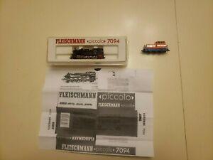 2 Fleischmann Piccolo's Locomotives #7094 & #2307