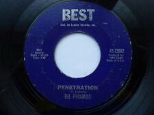 PYRAMIDS 45 'PENETRATION' USA BEST KILLER 1964 SURF INSTRUMENTAL ROCKABILLY VG