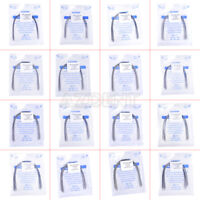 10Pcs Dental Orthodontic Stainless Steel Arch Wires Rectangular Natural Form