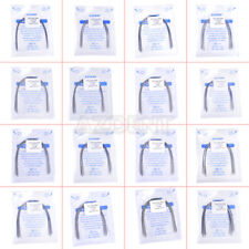 10Pcs AZDENT Dental Orthodontic Stainless Steel Arch Wires Natural Form All Size
